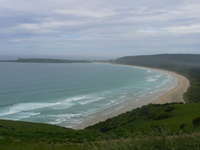 Catlins Coast beach