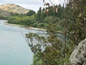 Clutha River views at Dumbarton near Roxburgh