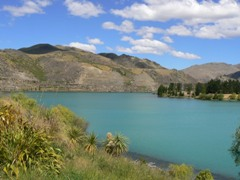 Lake Dunstan at Cromwell