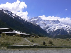YHA hostel at Mt Cook Village