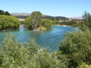 Clutha River near Wanaka
