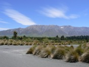 Entrance to Terrace Downs looking at Mt Hutt range