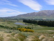 Terrace Downs golf course beside the Rakaia Gorge