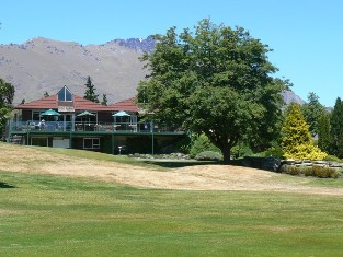 Queenstown Golf Club at Kelvin Heights clubhouse