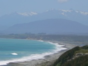 New Zealand's South Coast looking toward the Hump Ridge Track