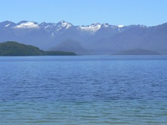 Mountains West of Manapouri